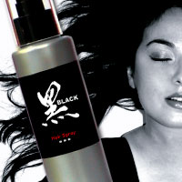 Black Hair Spray - 125ml